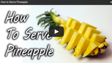 HowToServePineapple