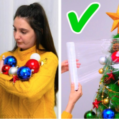 Genius Christmas Tree Hacks
