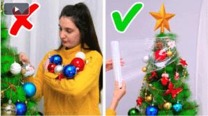 Genius Christmas Tree Hacks